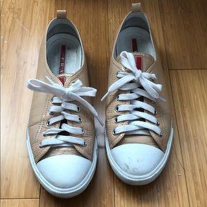 Beige Prada Sneakers